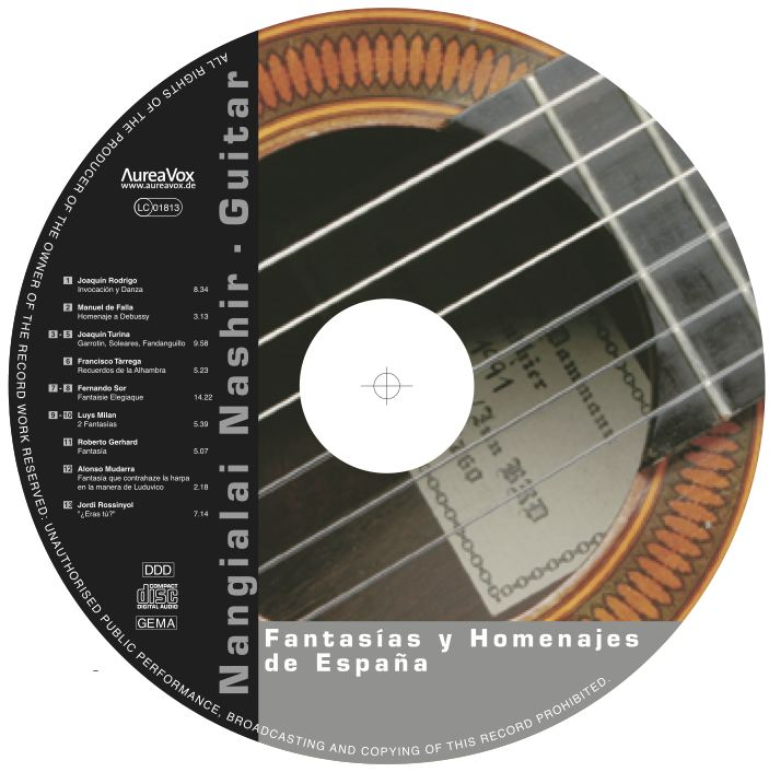 CD Label Fantasias y Homenjes